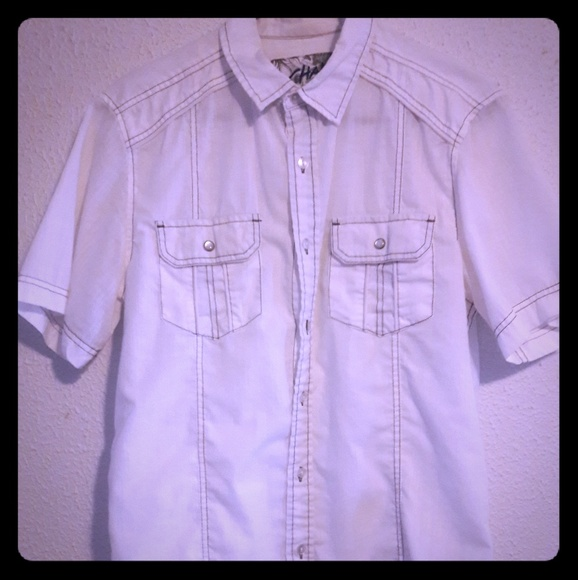 Chalc Other - Chalc - white button-down
